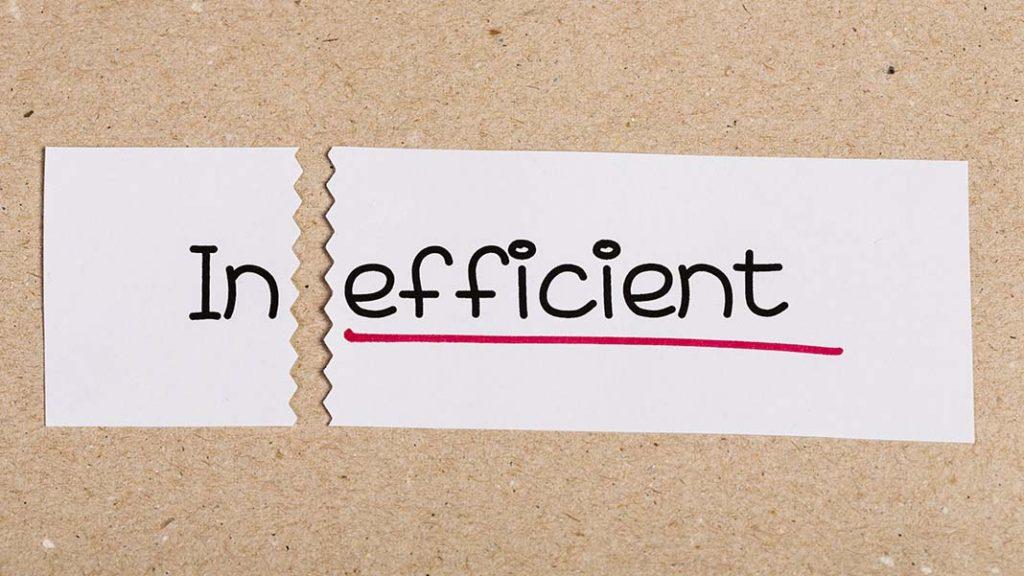 inefficiencies